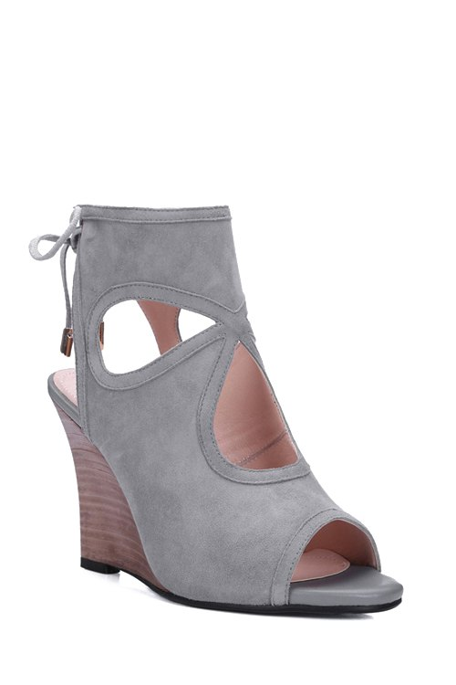 Wedge Heel Design Sandals For Women