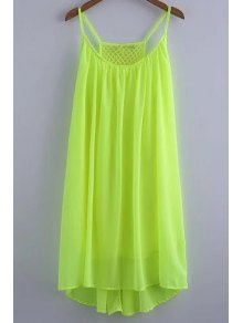 Chiffon Mesh Design Flippy Dress