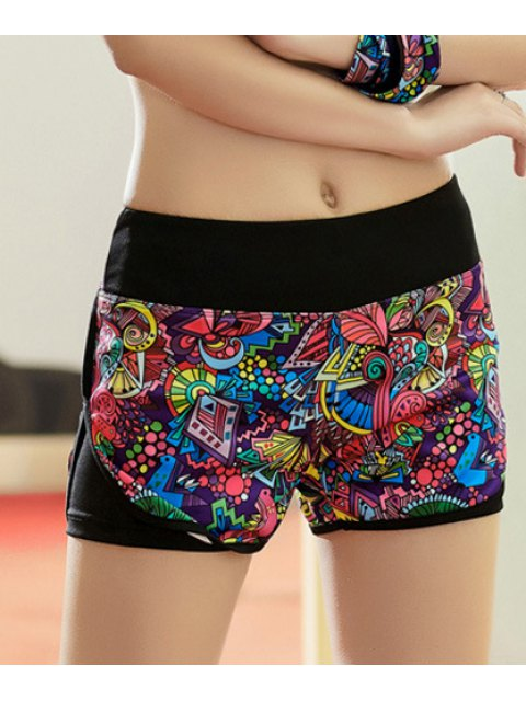 affordable Workout Shorts - COLORMIX S Mobile