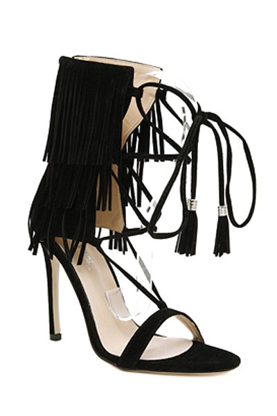Fringe Design Sandals For Women