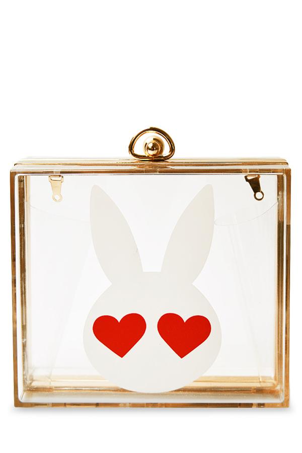 Transparent Design Evening Bag For Women
