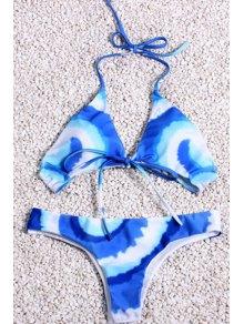 Tie Dye Halter Bikini