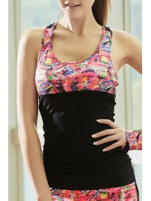 Crisscross Back Tight Fit Tank Top