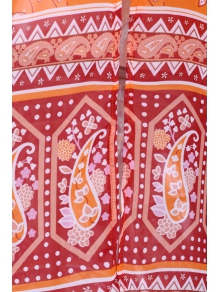 Paisley Print 3/4 Sleeves Kimono