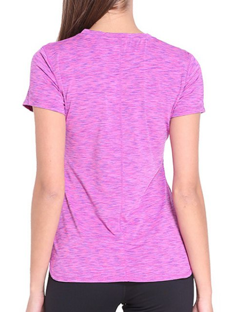 shops Exposed Seams Quick Dry Top - ROSE S Mobile