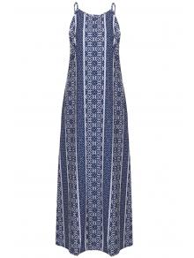 Spaghetti Strap Sleeveless Print Maxi Dress