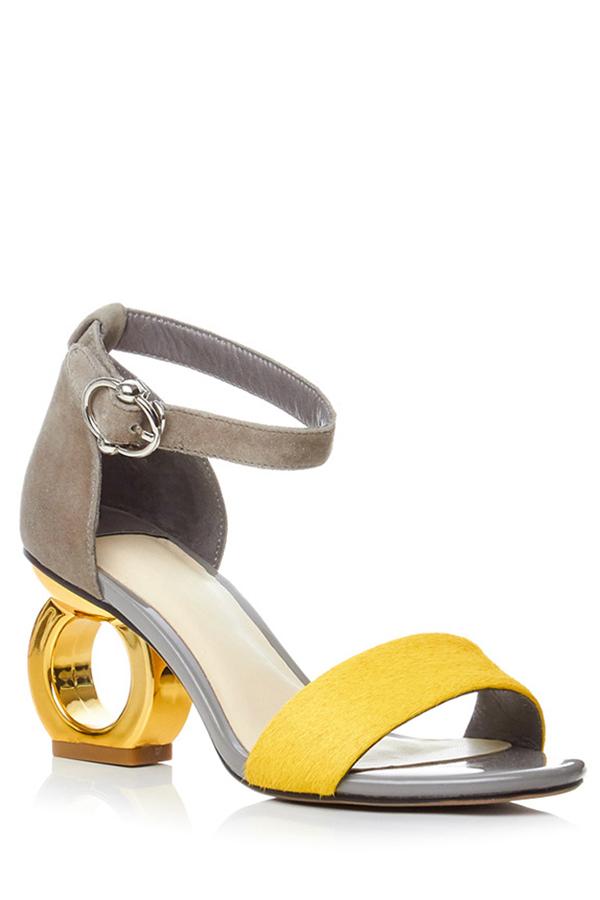 Color Block Design Sandals For Women 178653101