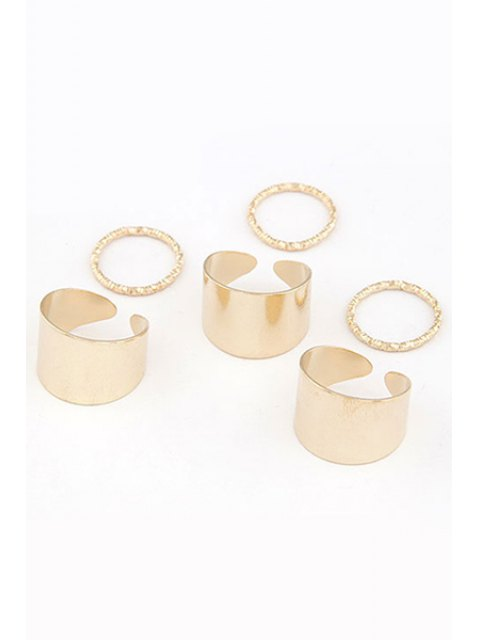 new Punk Style Rings - GOLDEN ONE-SIZE Mobile