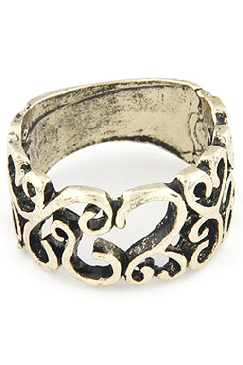 Hollow Out Retro Style Ring