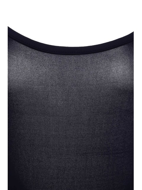 women's Spaghetti Strap Backless One-Piece Swimwear - PURPLISH BLUE M Mobile