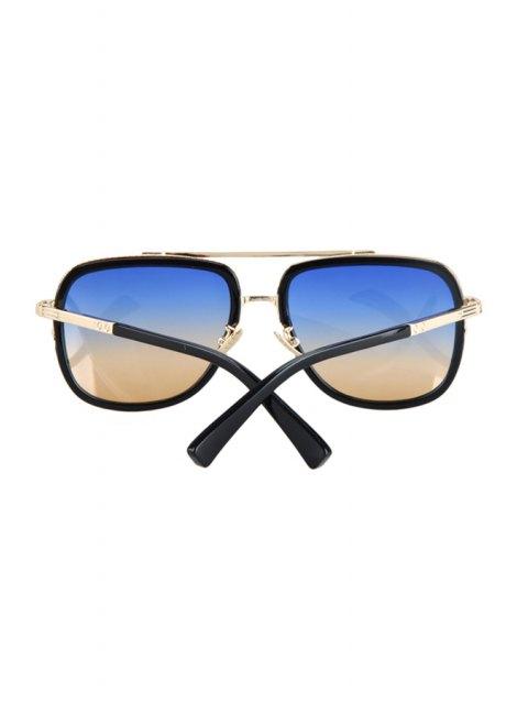 outfit Alloy Match Gradual Color Lenses Sunglasses - BLUE  Mobile