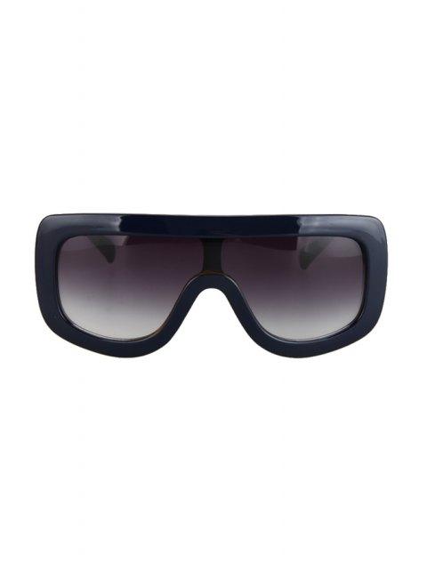 ladies Deep Blue Match Leopard Wrap Sunglasses - DEEP BLUE  Mobile