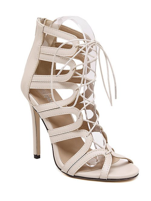 Lace-Up Design Sandals For Women
