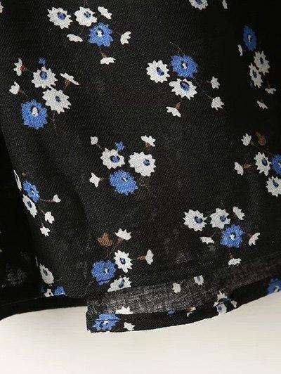 Full Tiny Floral Half Sleeve Blouse от Zaful.com INT