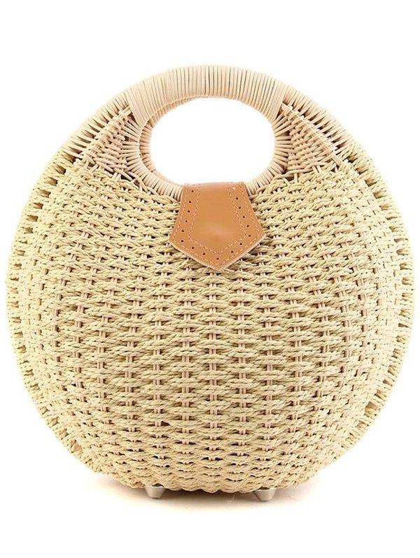 Weaving Design Tote Bag For Women