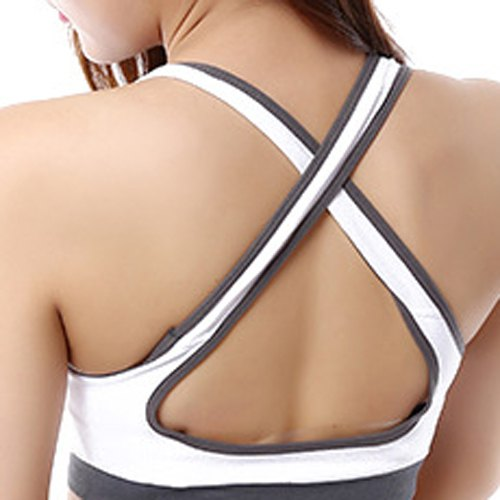 Criss-Cross Sports Bra