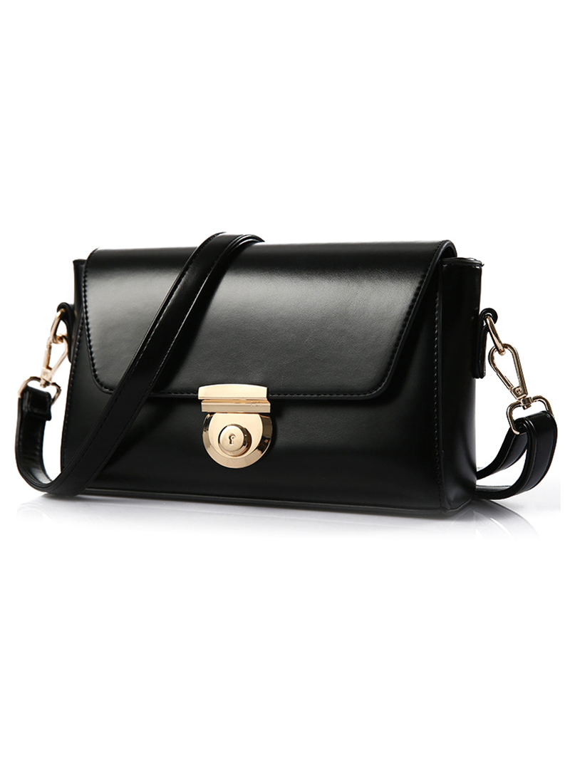 PU Leather Design Crossbody Bag For Women