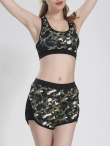 Camoflage Shorts Set