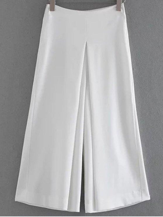 Skorts color sólido - Blanco L