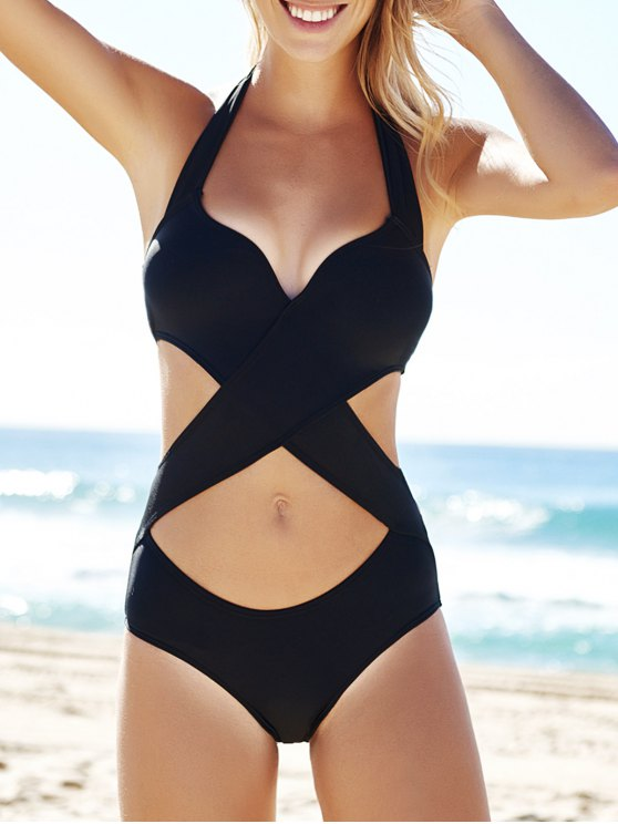 VIRTUAL STORE USA Transparent Hollow Out Beach Wear Sexy Plus Size Swimwear Black One Piece Swimsuit Monokini See Through Cut Out Swimming Suits. Sold by VIRTUAL STORE USA. $ VIRTUAL STORE USA One Piece Swimsuit Women Backless Bodysuit High Cut Swimwear Bathing Suit Swim Beachwear Monokini Swimsuit Black.