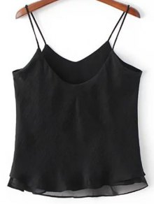 Double-Layered Camisole Top