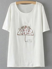 Plus Size Umbrella T-Shirt