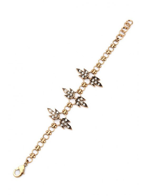 Rhinestone Grass Bracelet -   Mobile
