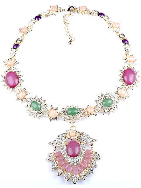 unique Flower Jewelry Necklace -   Mobile