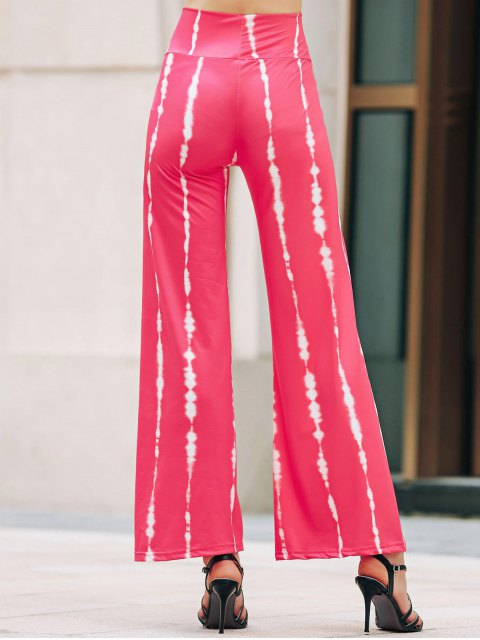 affordable Striped Wide Leg Palazzo Pants - ROSE S Mobile