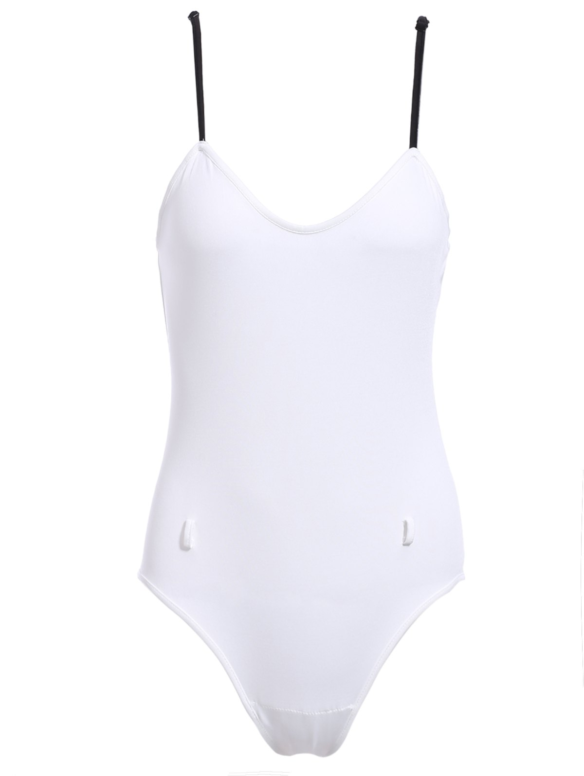 Cami White One-Piece Swimwear