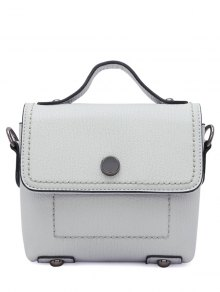 Buy PU Leather Stitching Cover Crossbody Bag