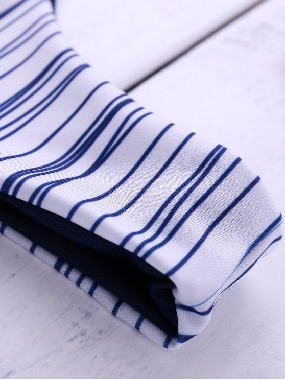 Stripes Cami Bikini Set - STRIPE M Mobile
