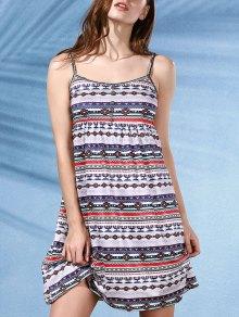 Printed A-Line Cami Dress