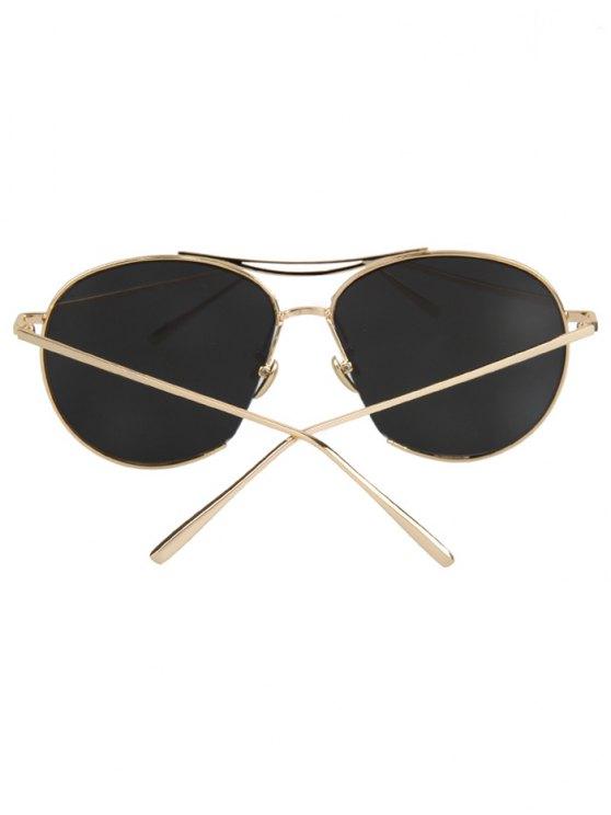 Irregular Frame Sunglasses - SILVER GRAY  Mobile