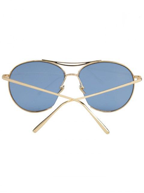 shop Irregular Frame Sunglasses - ICE BLUE  Mobile
