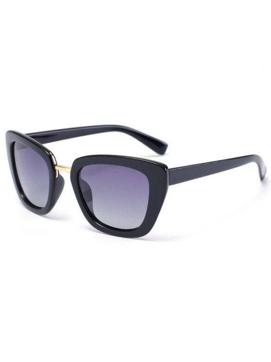 Butterfly Frame Sunglasses - BLACK  Mobile