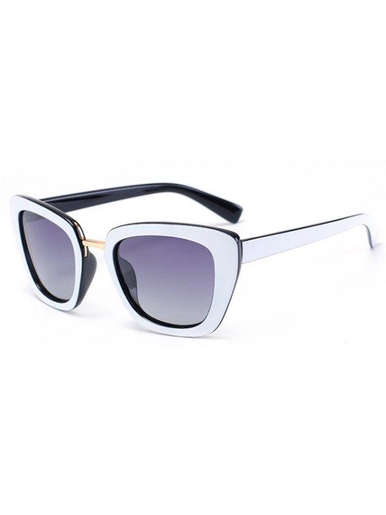 women's Butterfly Frame Bicolor Match Sunglasses - BLACK