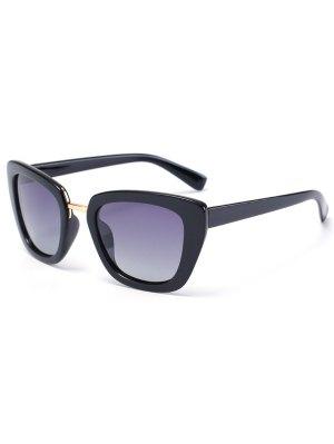 Butterfly Frame Sunglasses - Black