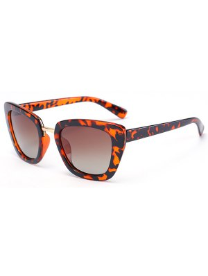 Flecky Butterfly Frame Sunglasses - Black