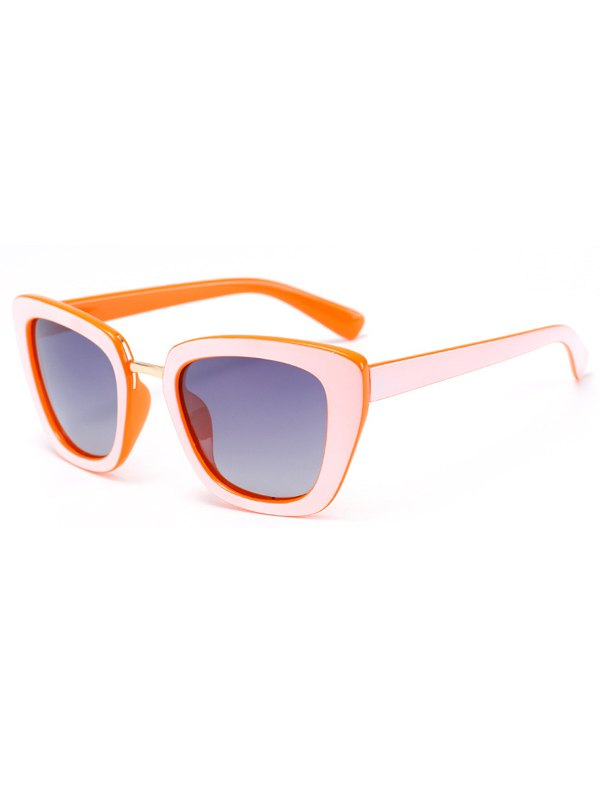 Butterfly Frame Bicolor Match Sunglasses