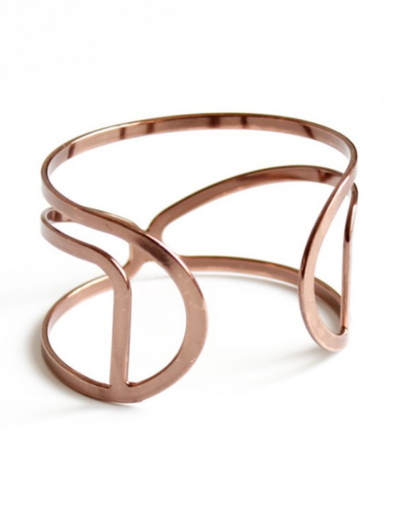 Hollow Out Bohemian Style Bracelet - ROSE GOLD  Mobile
