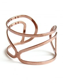 Hollow Out Bohemian Style Bracelet - Rose Gold