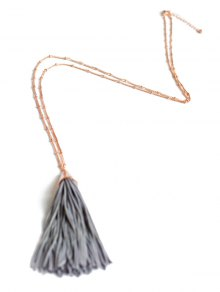 Simple Tassel Pendant Sweater Chain