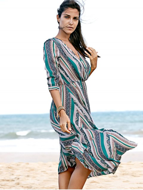 best Printed Chiffon Willow Dress - COLORMIX S Mobile
