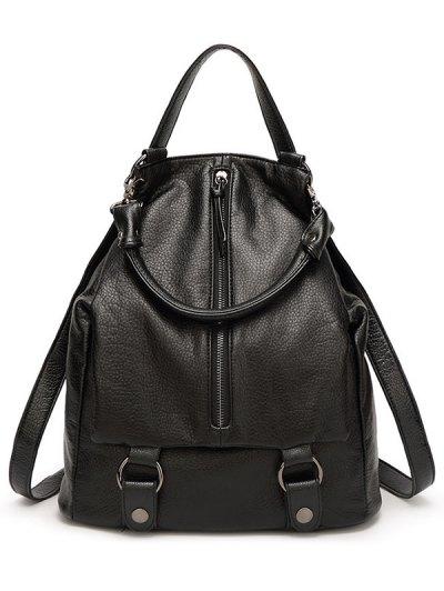 Black Designs Satchel For Women