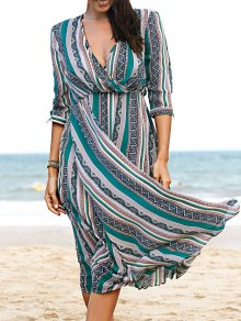 Printed Chiffon Willow Dress
