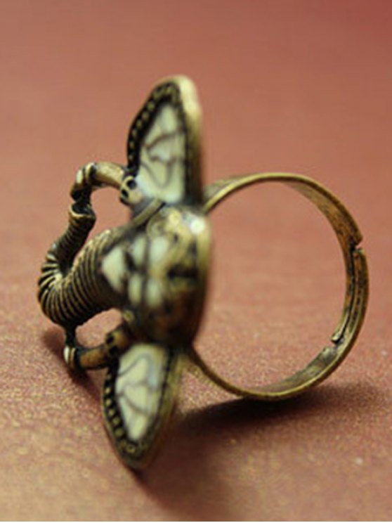 Tribal Elephant Ring - COPPER COLOR  Mobile