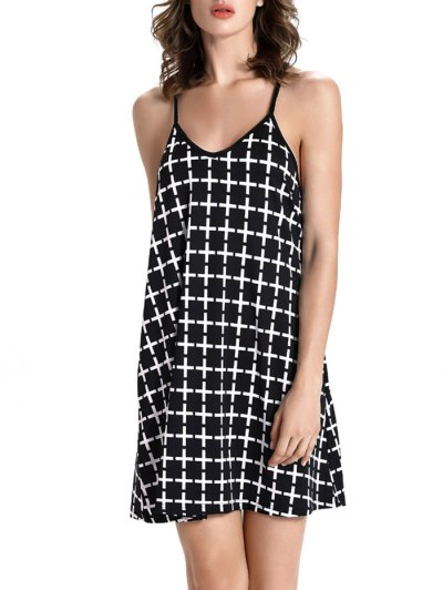 Checked Pattern Cami Dress от Zaful.com INT