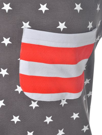 U Neck American Flag Tank Top от Zaful.com INT