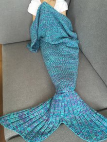 Tricoté Mermaid Tail Blanket